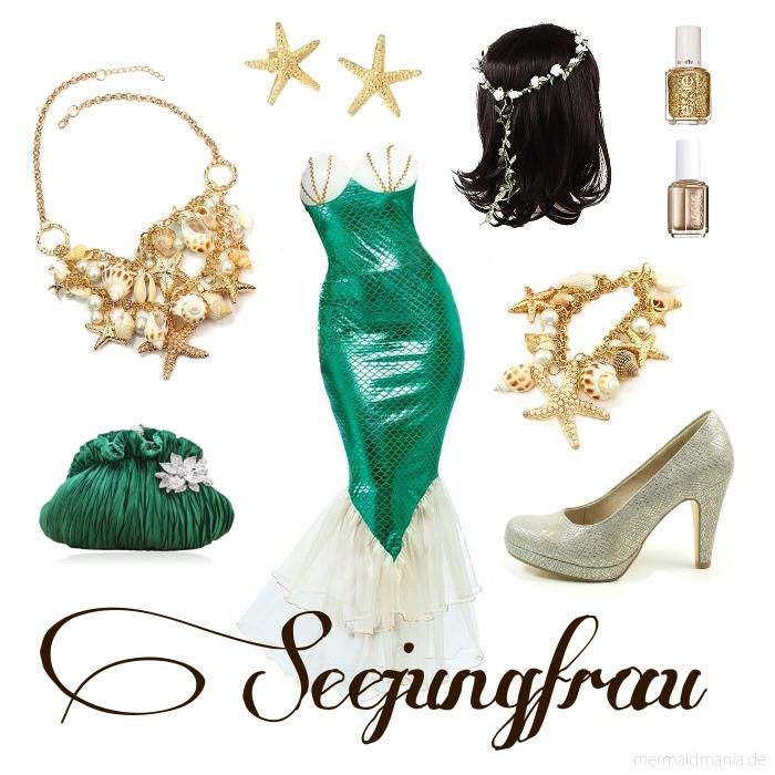 Meerjungfrauen Kostume Und Styling Fur Karneval Fasching Motto